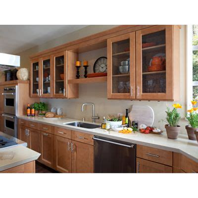 design of kitchen cabinets style 420t in maple spice waypoint living space cabinets 6590