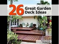 great deck and patio design ideas 26 Great Garden Deck Ideas