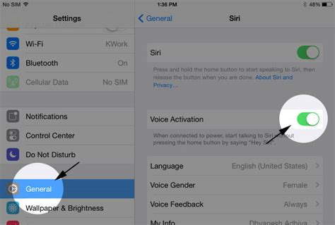 how to turn voice iphone 5 enable disable voice activated siri in ios 8 on idevices