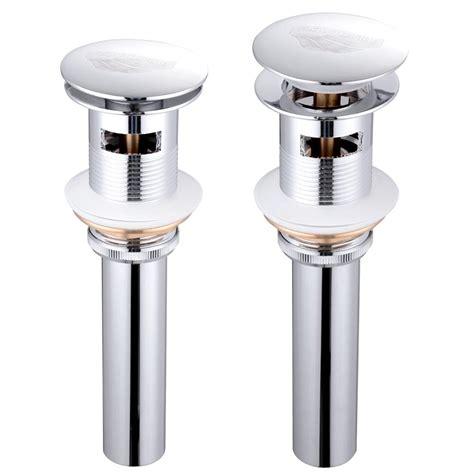 bathroom sink pop  drain assembly vessel faucet