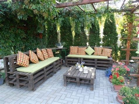 amazing diy outdoor pallet furniture designs