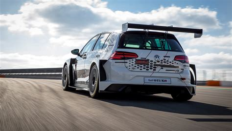 volkswagen golf gti tcr racing car review car magazine