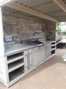 Outdoor Küche Bauen : must see pallet outdoor dream kitchen paletten pinterest outdoor k che garten und outdoor ~ Markanthonyermac.com Haus und Dekorationen