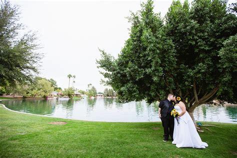 Fun And Romantic Arizona Backyard Wedding