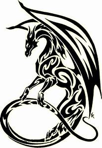 Tribal Dragon Png - ClipArt Best