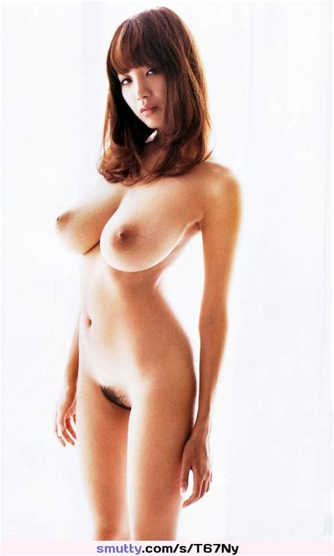Busty Asian Beauty Shionutsunomiya Naked Showing Her Bigtits And Hairypussy