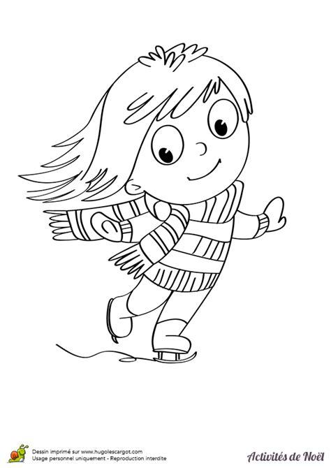 jeux pour fille gratuit de cuisine coloriage fille sur patin a glace hugolescargot com