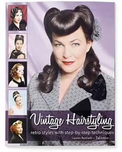 Vintage Hairstyling | Vintage & Pinup Hair Tutorial Book