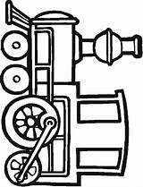 Caboose Cartoon Simple Animated Clip Draw Clipart sketch template
