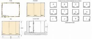 Exemple d'un plan de montage d'une chambre froide Nouvelles NomaCoolNord