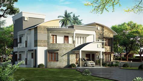 Home Design 02 : اروع افكار وجهات الفلل الصغيرة مودرن