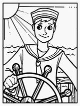 Coloring Sailor Pages Colouring Template Skinny Picolour Templates Getcolorings Printable sketch template