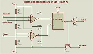 555-timer As A Bistable Latch