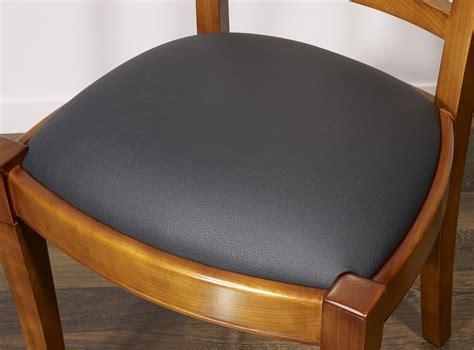 chaises merisier chaise lou en merisier massif de style louis philippe