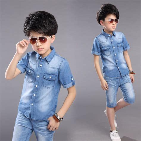 big virgin children boys clothes cotton denim jeans set