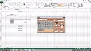 Calendar  Excel Add-in  Vba