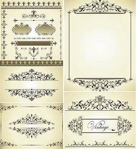 wedding vector graphics blog page 3 With classic decorative wedding invitations vector