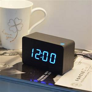 home decoration bedroom desktop despertador digital clock
