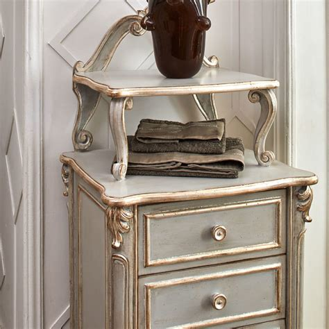 Chest Of Drawers Bathroom by High End Louis Xvi Inspired Narrow Bathroom Chest Of Drawers