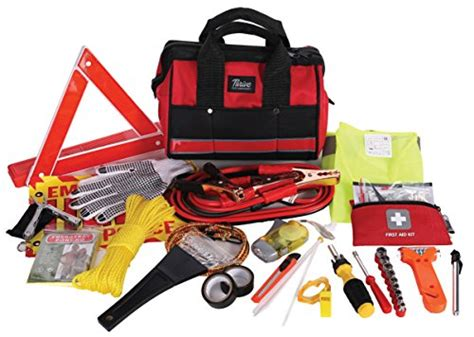 Thrive Roadside Assistance Auto Emergency Kit + First Aid