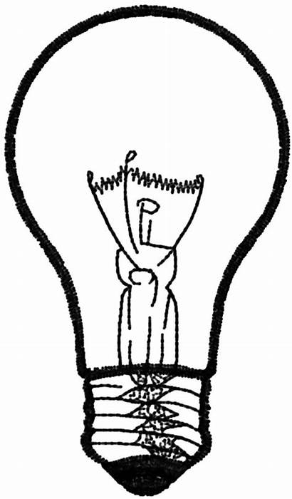 Bulb Coloring Pages Flashlight Designlooter Drawings Again