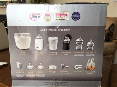 Tommee Tippee Complete Feeding And Sterilisation Set New