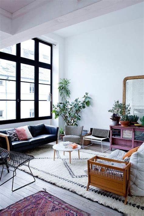 canapé sous fenetre 56 idées comment décorer appartement