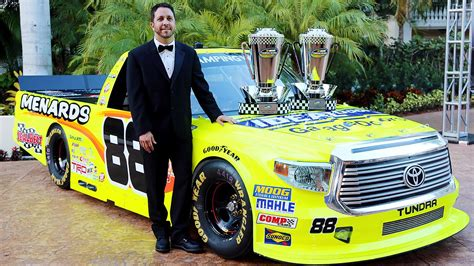 trump nascar donald banquet racing