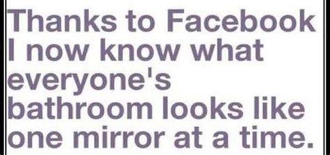 Funny Bathroom Mirror Profile Pictures