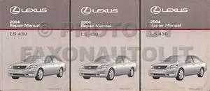 2004 Lexus Ls 430 Navigation System Owners Manual Original