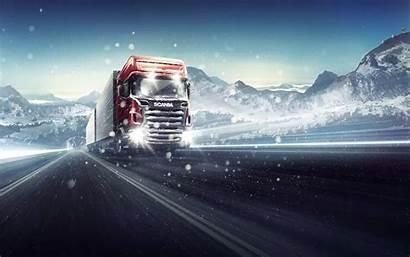 Truck Wallpapers Scania Trucks Simulator Driving Volvo