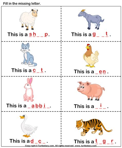all worksheets 187 farm animals worksheets for grade 1