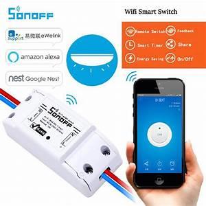 Smart Home Wlan : itead sonoff remote control wifi switch smart home ~ Lizthompson.info Haus und Dekorationen