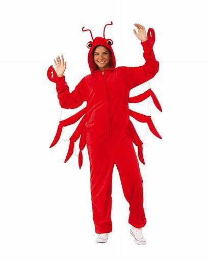 Lobster Onesie Adults Costume Unisex Langosta Disfraz