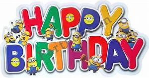 Minions Paper Happy Birthday Banner-P1PC0007509 Banners