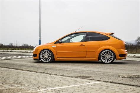 ford focus st mk2 electric orange ford focus st mk2 from poland ford focus