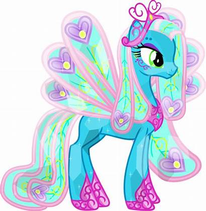 Pony Crystal Ponies Princess Peacock Deviantart Ellie