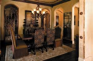 Old World Tuscan Decor Dining Room