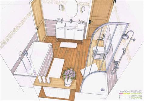 perspective salle de bain marion pautasso portfolio design d espace professionnels particuliers