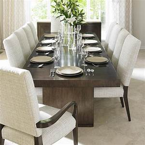 Lexington laurel canyon eleven piece dining set with san for Lorenzo living room furniture sets pieces