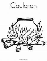 Coloring Cauldron Twistynoodle Noodle Built California Usa sketch template