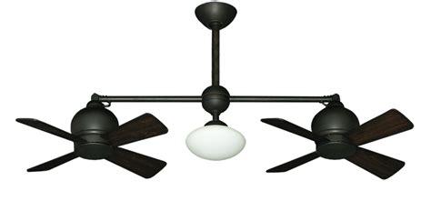 double head ceiling fan with light ceiling fan design metropolitan oil rubbed bronze black