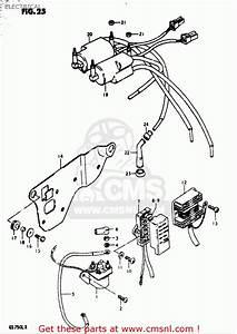 Suzuki Gs750 L 1980-1981  Usa  Electrical