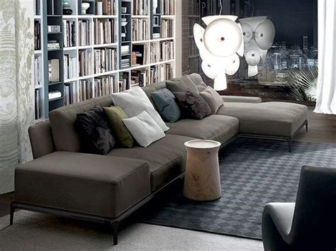 Sofa With Chaise Longue Park Collection By Poliform