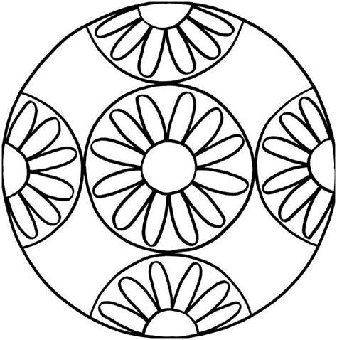 mandalas zum drucken mandala ausmalen kinder ausmalbilder kostenlos