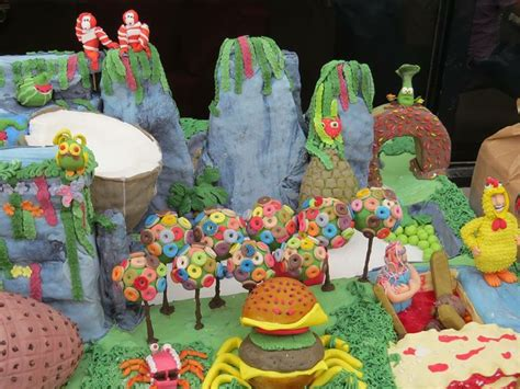 cloudy   chance  meatballs cake shrimpanzee leek