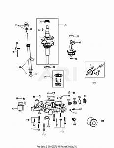Mtd 4p90hub Engine Parts Diagram For 4p90hub Crankshaft