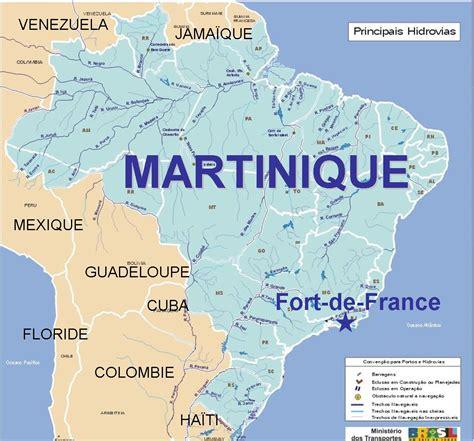 Carte Du Monde Martinique by Infos Sur 187 Ou Se Trouve La Martinique Sur La Carte Du