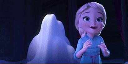 Elsa Frozen Nice Gifs Person Zabawny Tan