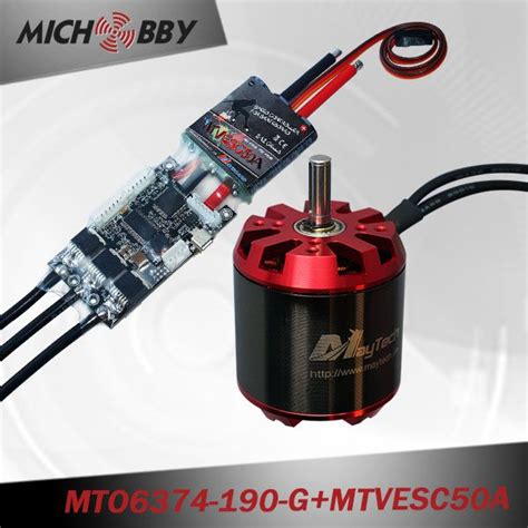 Motor Electric Mic by Combo 6374 190kv Sensorless Motor Vedder Vesc For